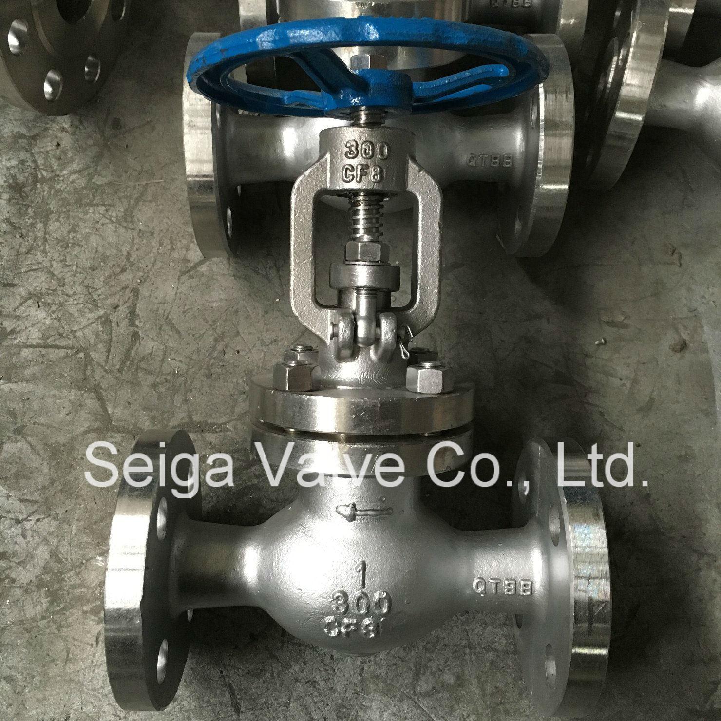 Stainless Steel Flange Globe Valve