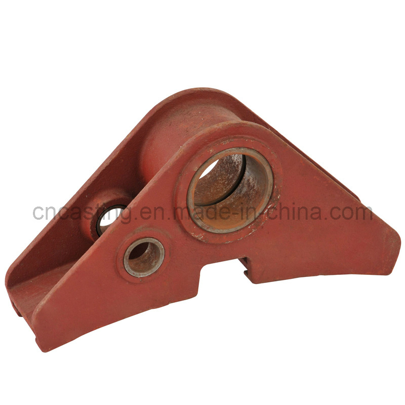 Truck Casting Bearing Parts with Red Painted