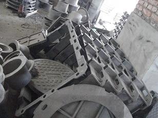 Four Triangle Covers Ductile Iron Manhole