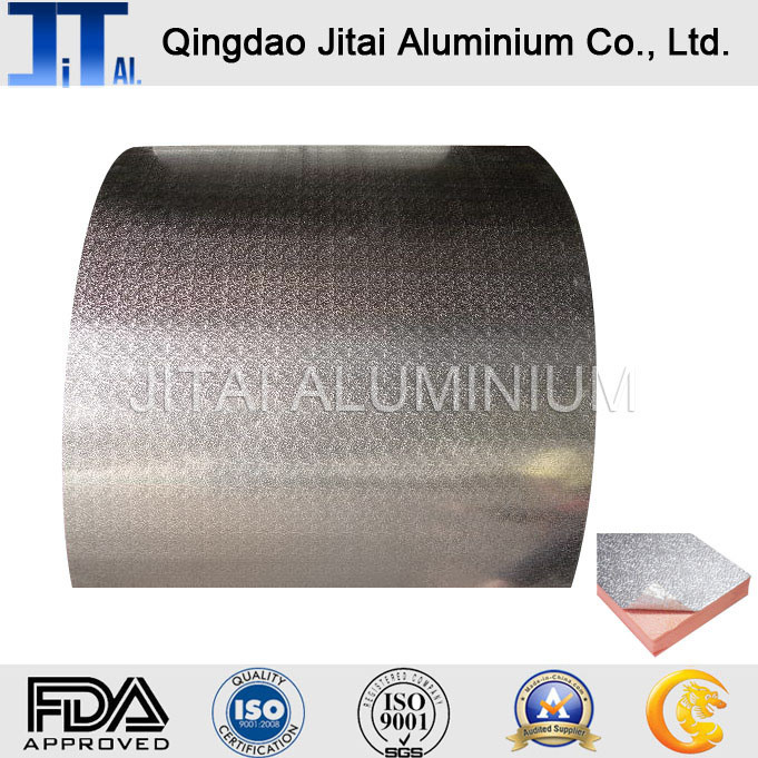 Embossed Coated Aluminum Foil