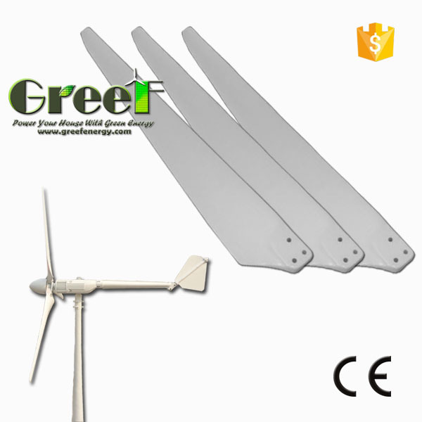 3kw 30kw 100kw Wind Generator FRP Blades with Ce Certificate