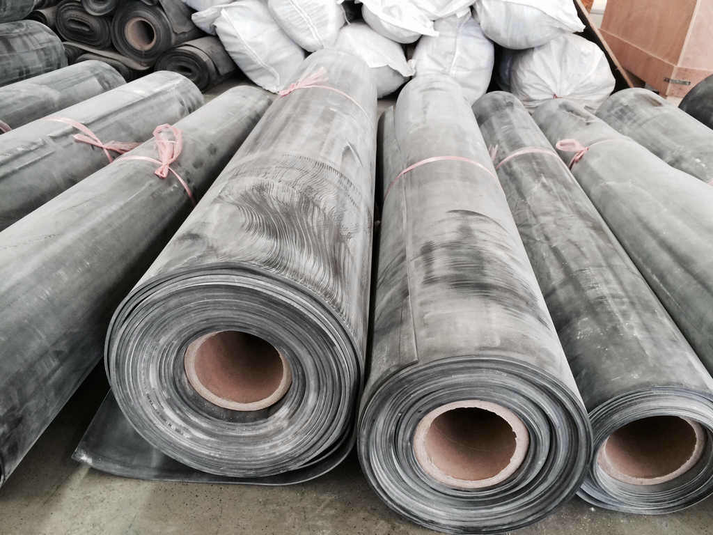Fluorubber Sheet, FKM Sheet, FKM Roll Postcured Without Smell