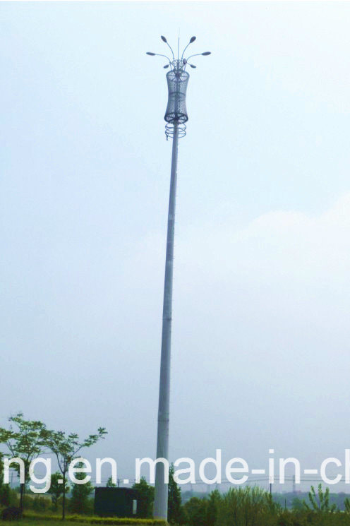 Single Tube Communication Tower Made in China with Competitive Price