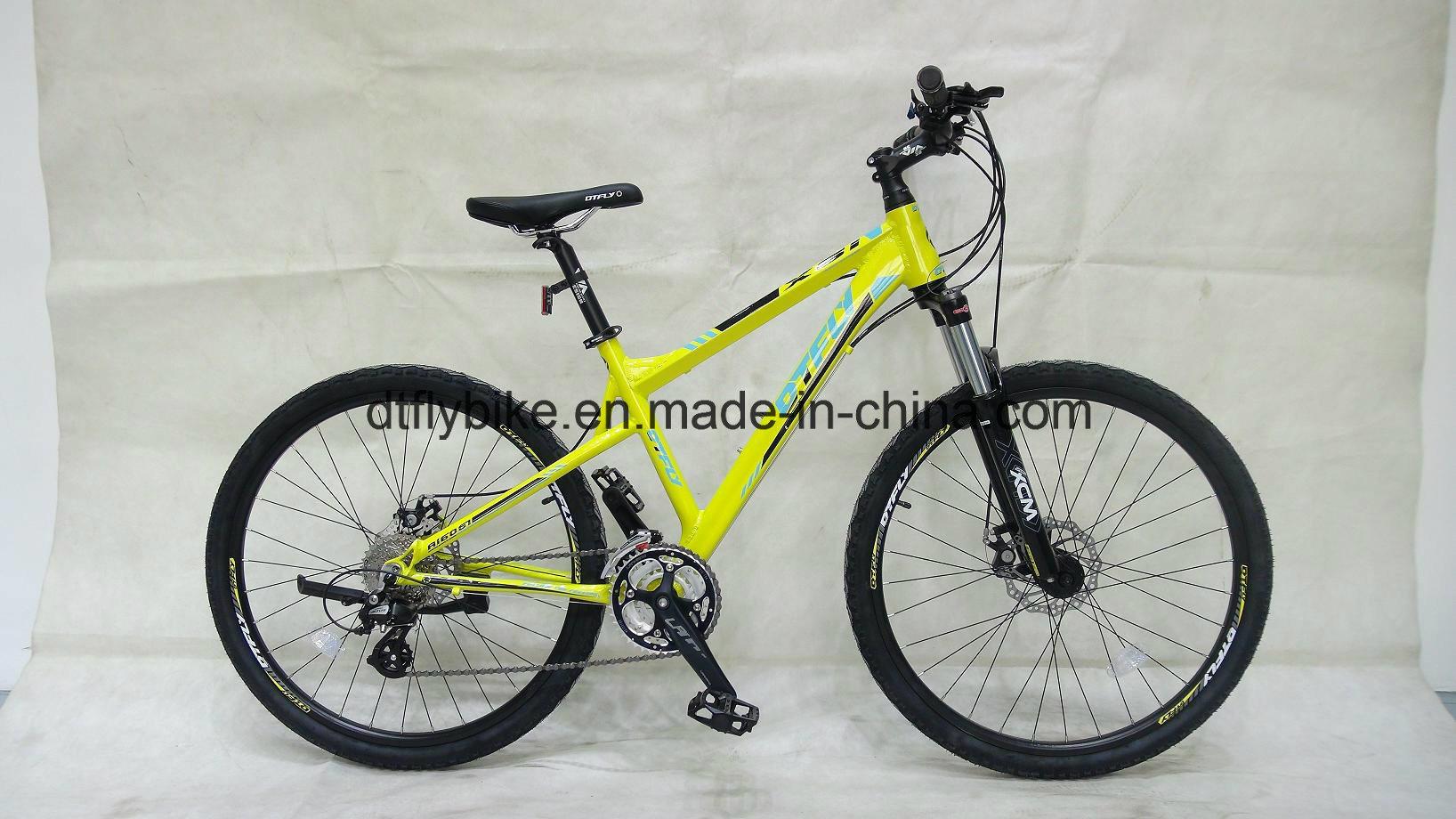 """Bike,26""""Tusheng, Hydraulic Disc-Brake, Mountain Bike with Shimano 24s"""