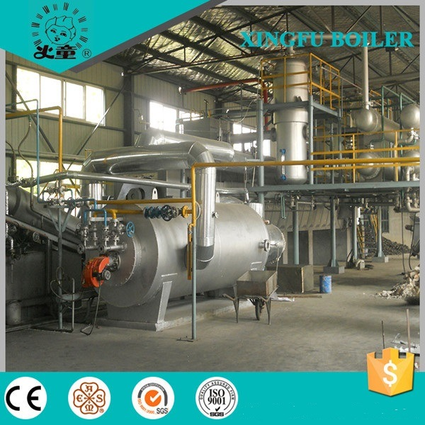 15t, 30t Fully Continuous Waste Plastic Pyrolysis Equipment