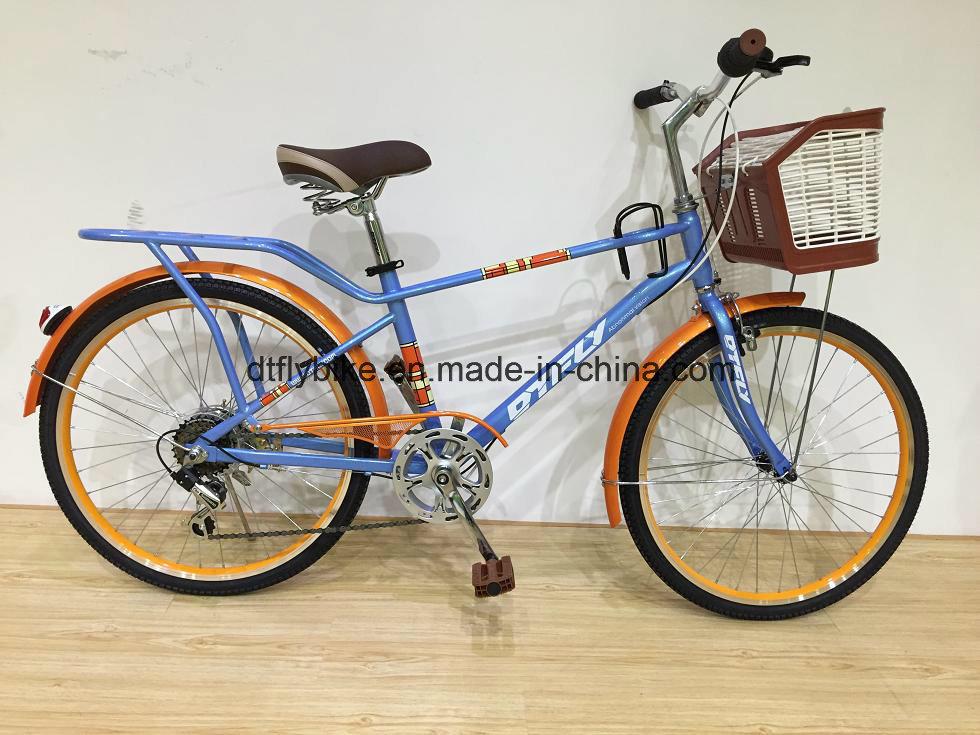 24inch Coffee Bike, Shimano 7speed, 2017hot Sale City Bike