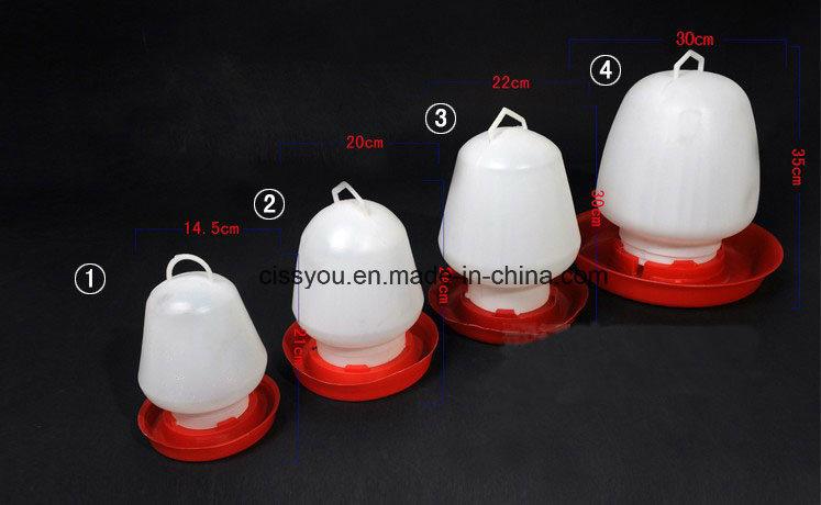 Plastic Poultry Chicken Drinker Feeder Water System Equipment