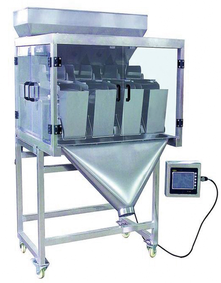 4 Head Weighing Filling Machine