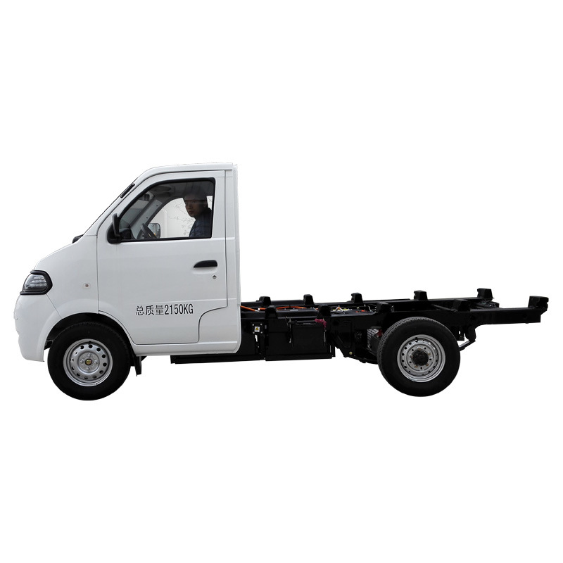 EEC Approved Electric Truck Chassis with Single Cab