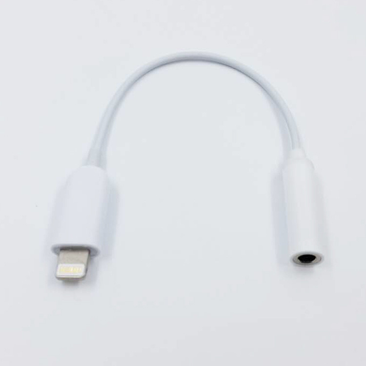 New Phone 7 Lighting Plug to 3.5mm Audio Jack Adapter 8 Pin