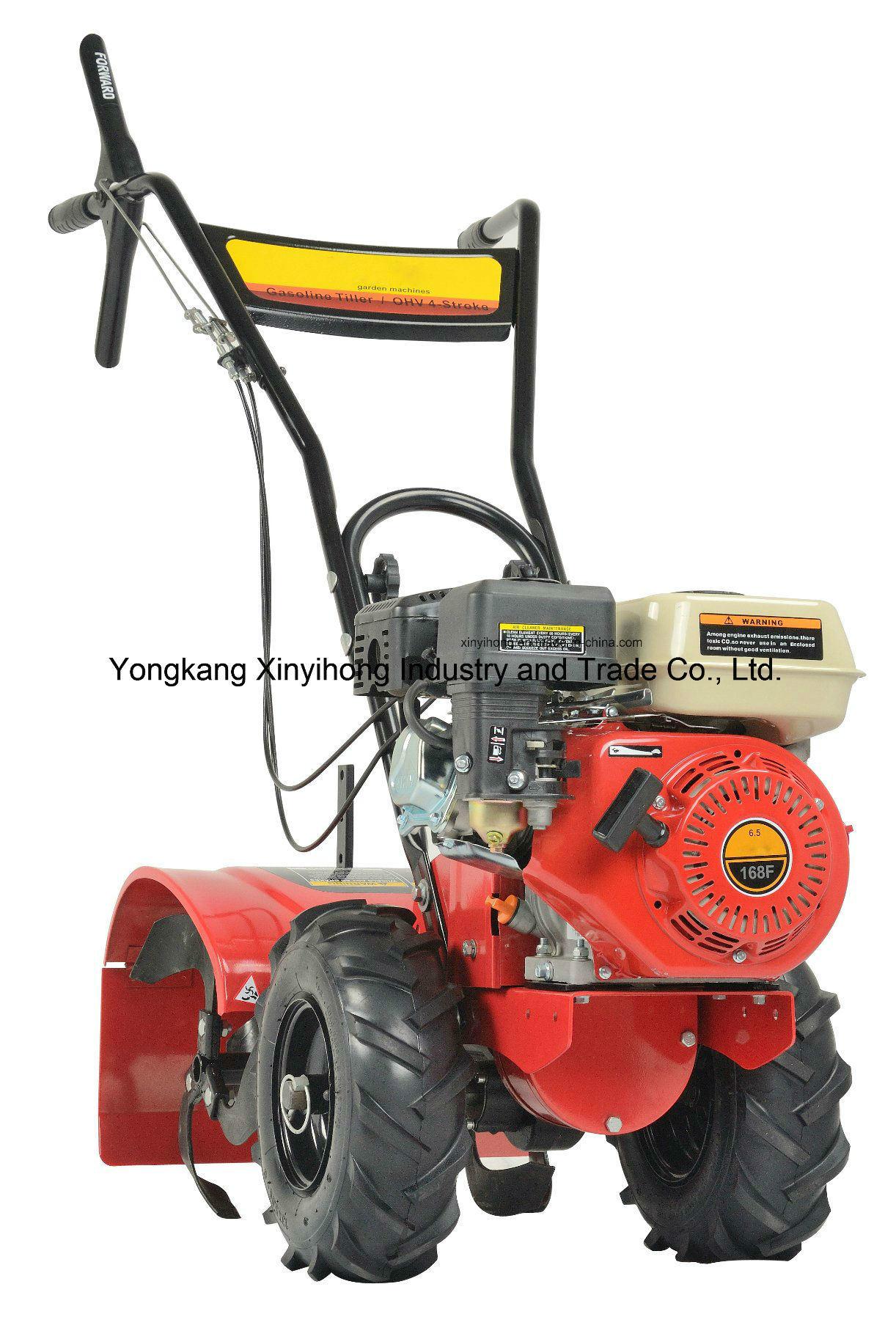 6.5HP 196cc 4-Stroke Agriculture Cultivator Mini Gasoline Power Rotary