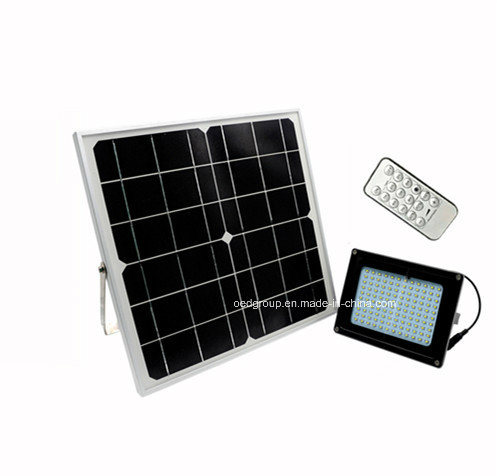 10W Remote Control Solar LED Flood Lights for Outdoor Use