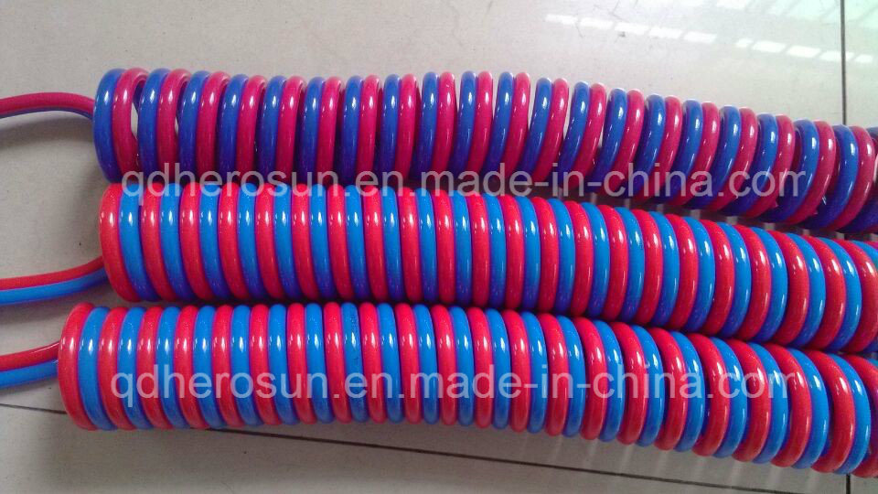 Bonded Coil Hose at Different Colors