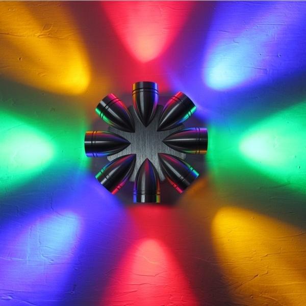 Beautiful LED Wall Lamp Colorful LED Light (GB-1608-8)
