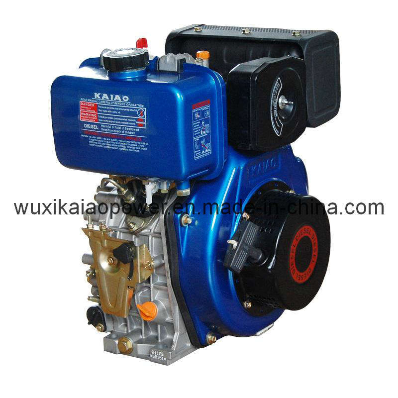 China 10hp Air Cooled Single Cylinder Diesel Engine