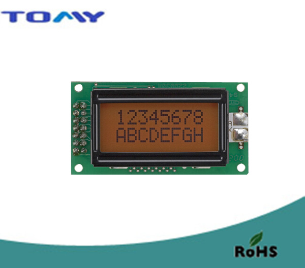 8X2 Stn Character LCD Module