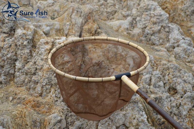 Long Handle Carp Bamboo Tenkara Fishing Landing Net