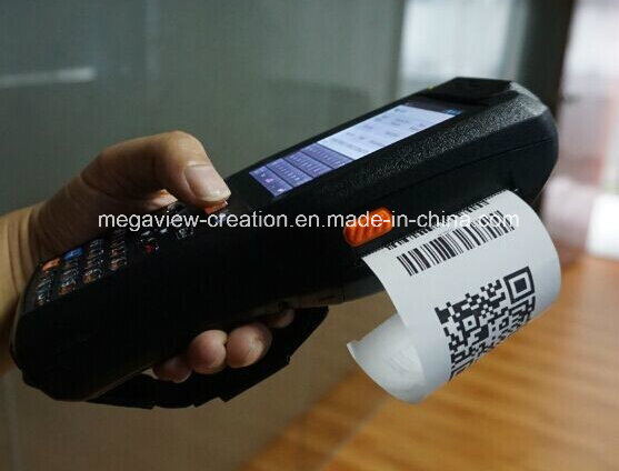 PDA with NFC/GPS/3G/ 58mm Thermal Printer and Barcode Scanner (MG-9878QH)