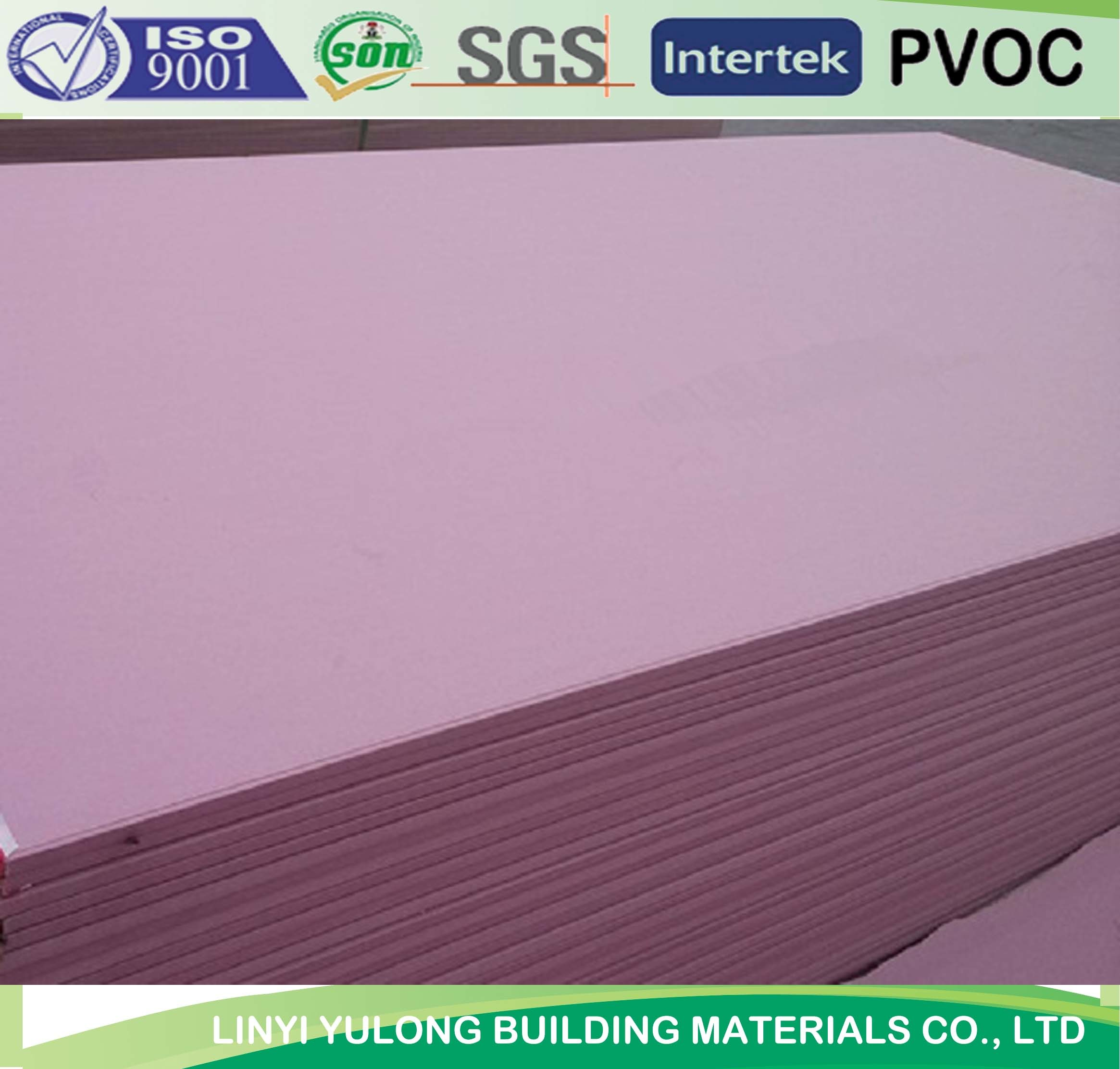 Fire Proof Gypsum Plaster Board with Good Quality
