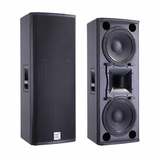 Double 12 Inch Outdoor Big Power PA Speaker