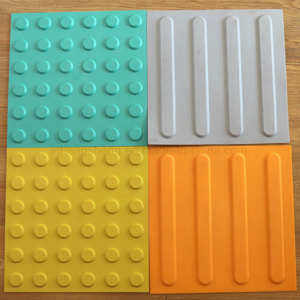 Self Adhesive TPU Plastic Tactile Paving Tile