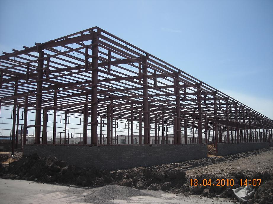 Steel Frame for Steel Building