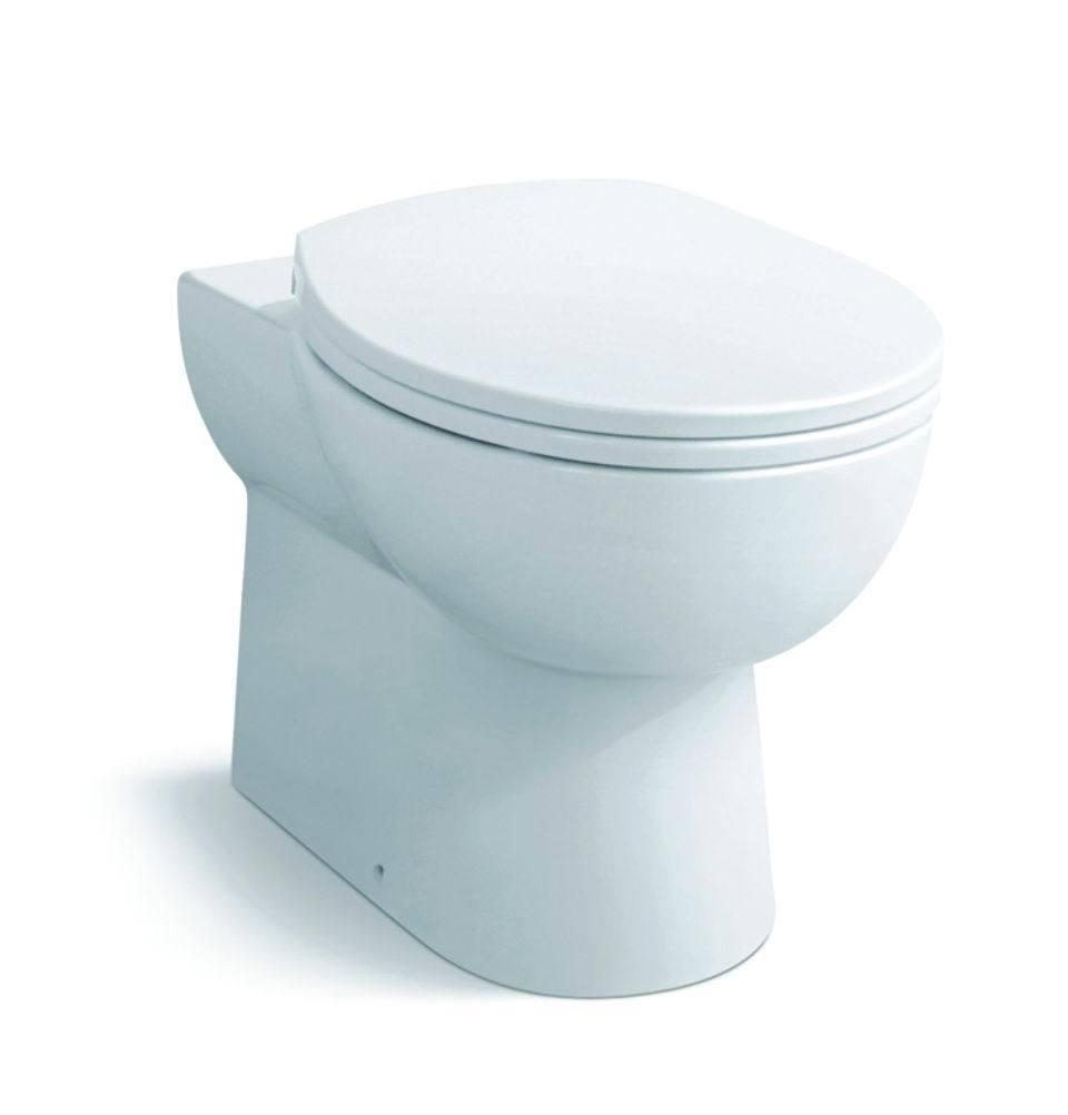 Ceramic Toilet High Quality Restroom Porcelain Wc Water Closet (S7566)