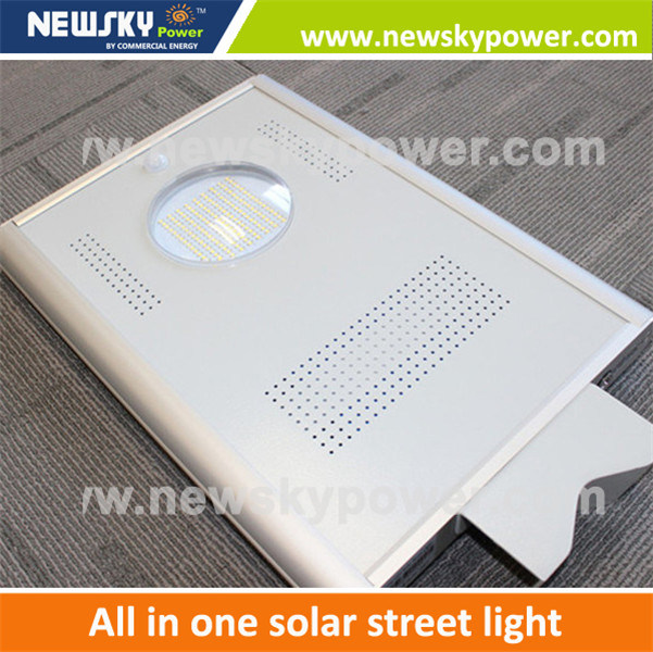 5W to 60W Solar Powered Integrated LED Panel Light