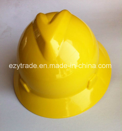 Construction Msa Full Birm Safety Helmet with Ce En 397 Certification