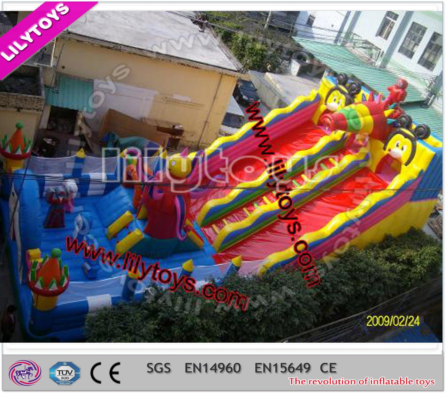 Exciting Red Color Inflatable Toy Products for Sale (Lilytoys-New-028)
