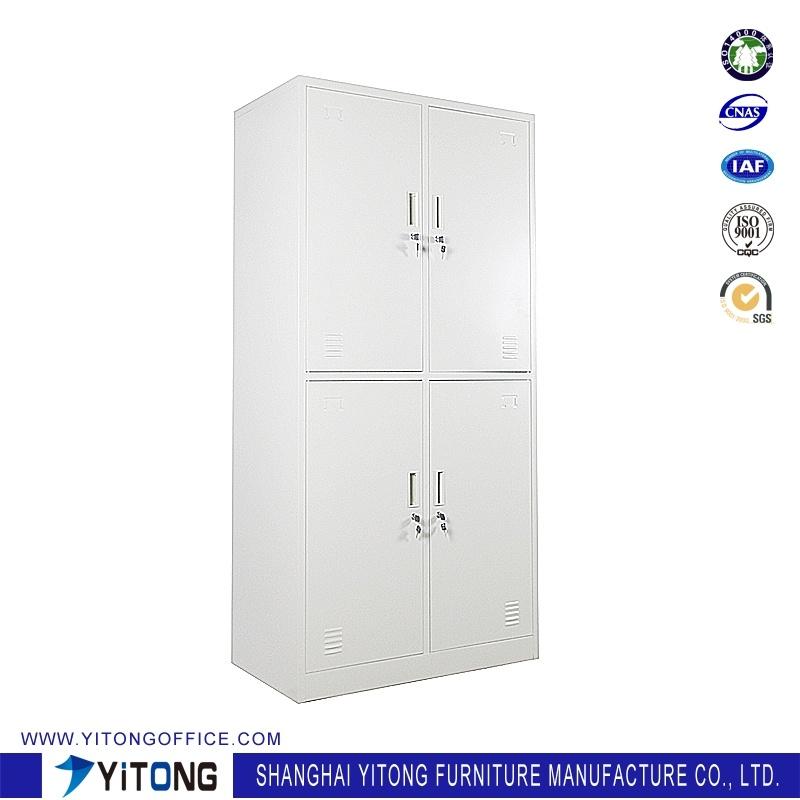 Yitong 4-Door Metal Storage Cabinet / Office Use Steel Locker