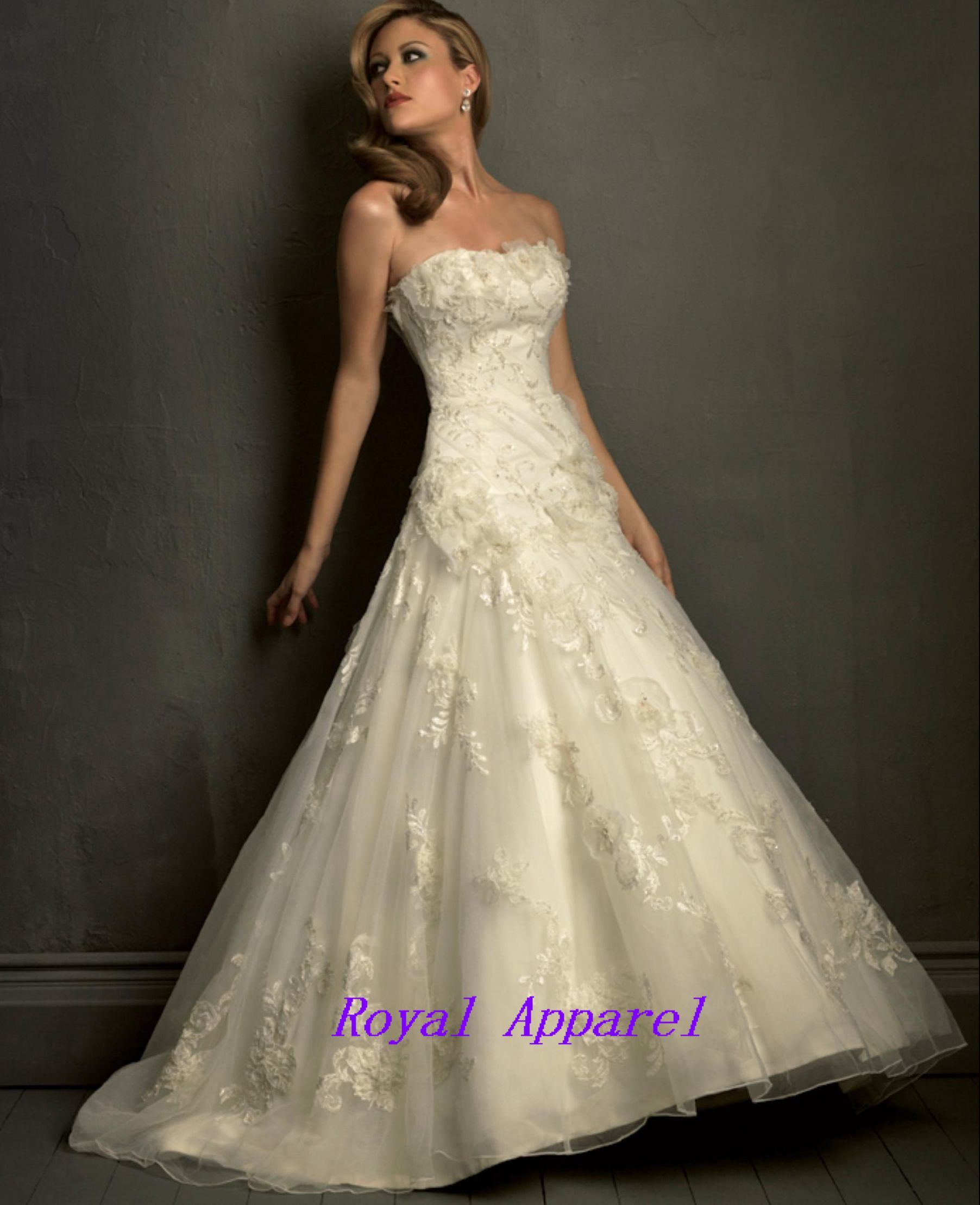 Lace Wedding Dress (HS-827)