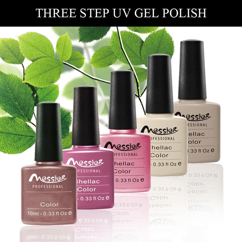Easy Soak off Messier Brand UV/LED Color Coat Nail Art