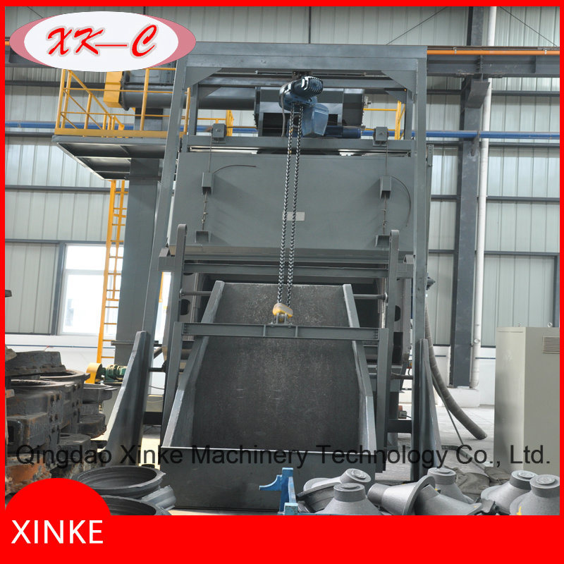 Tumblast Airless Clean Machine with Auto Loading Device Q3220