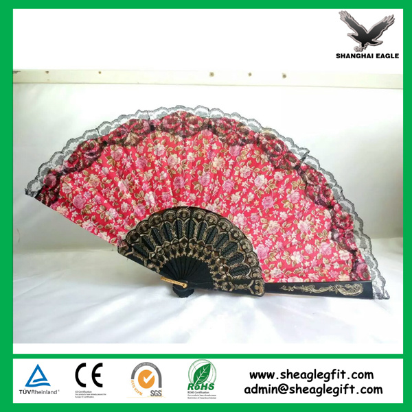 Custom Printed Folding Plastic Fans