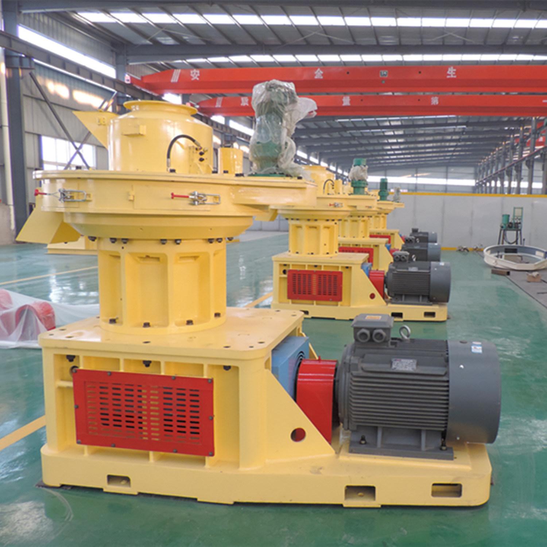 Biomass Sawdust Wood Rice Husk Cotton Stalk Pellet Press Machine
