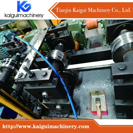 Ceiling T Bar Forming Machine with Center Black Line Groove