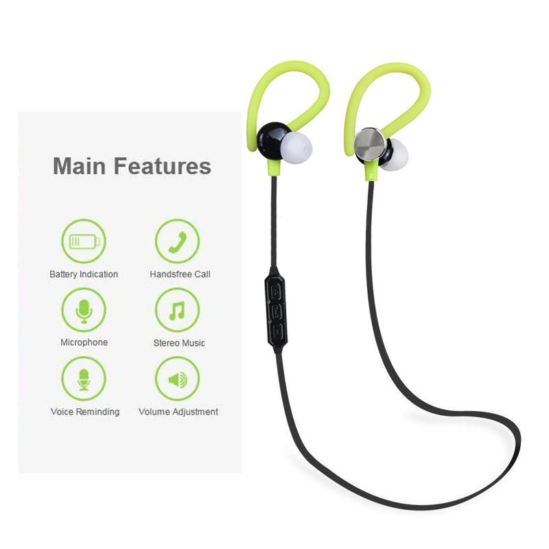 Newest Sport Wireless Bluetooth Earphone with Ear Hook