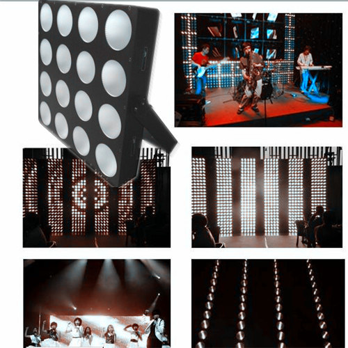 Auto Running LED Matrix Beam Panel DJ Stage Lighting