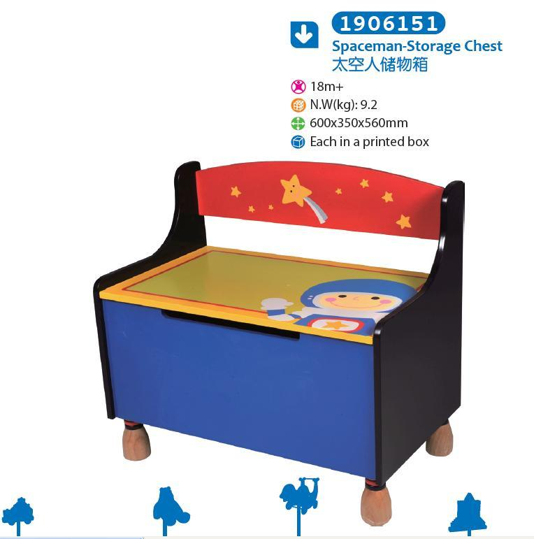Wooden Storage Chest Bench Chest for Children for Kids