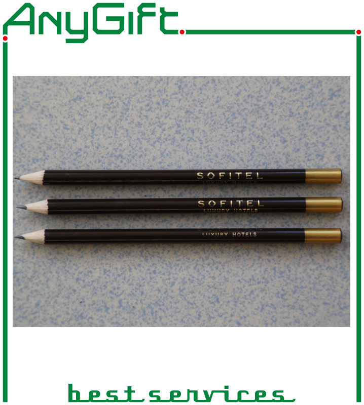 Wooden Pencil with Customized Logo and Color