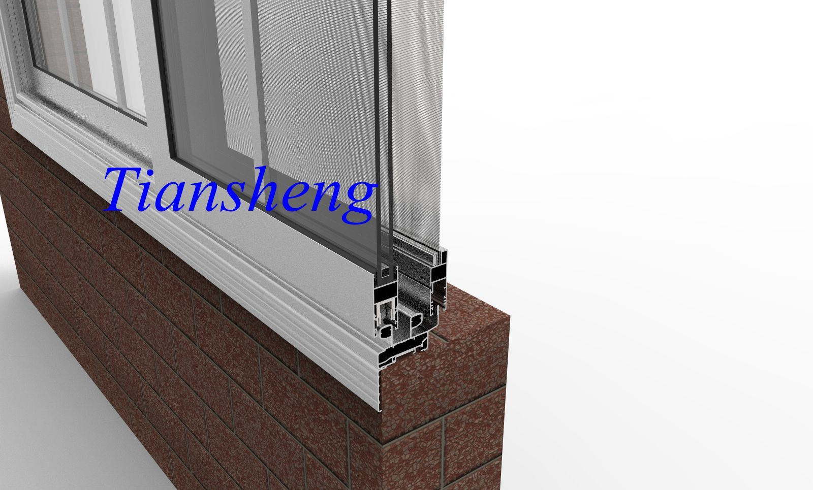 Customized High Quality Glass Window Aluminum Sliding Window