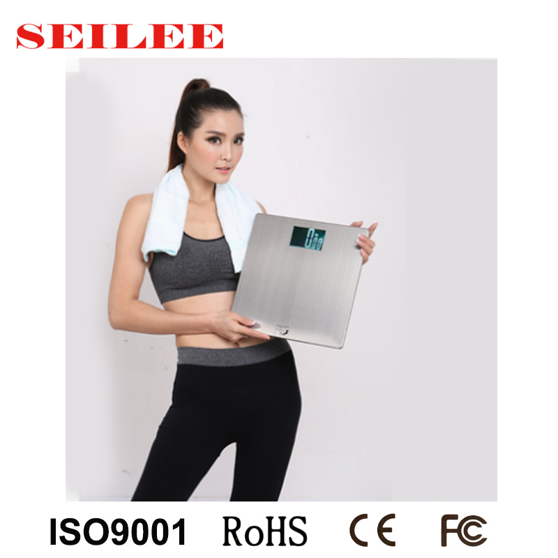 200kg Stailess Steel Large Screen Electronic Personal Scale Hotel Room Scale