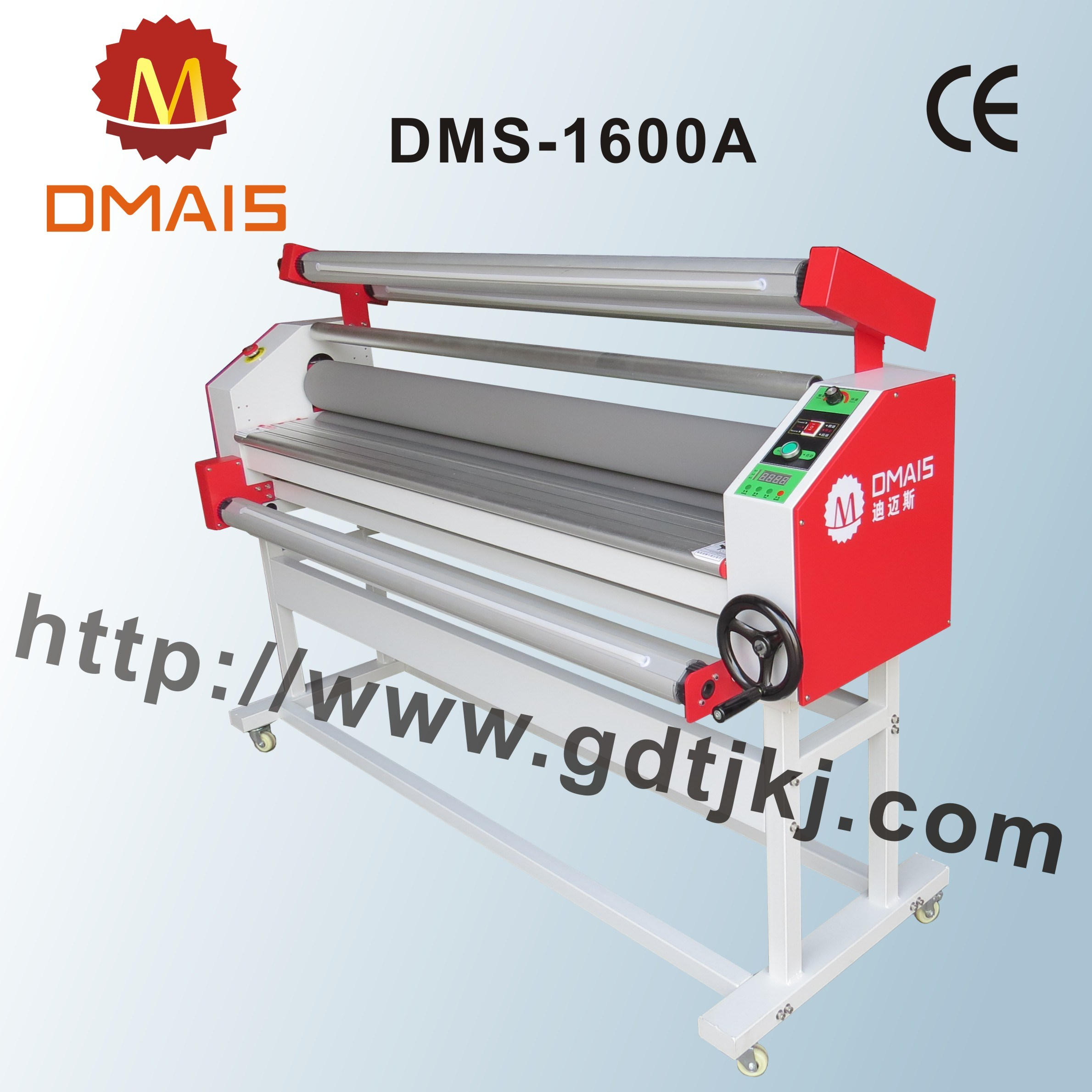"1.6m-63"" Manual Warm and Colde Roller Laminating Machine"