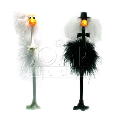 Grooms Gifts  Bride on Groom And Bride Novelty Pen   China Novelty  Feather