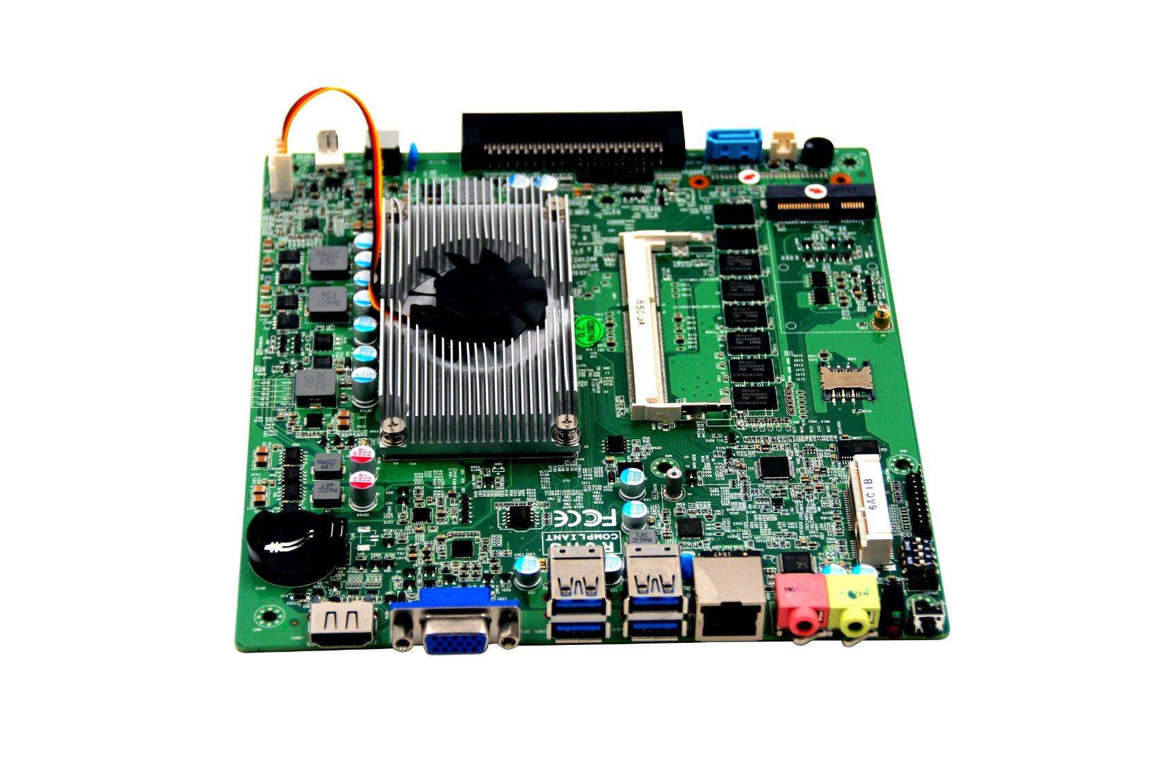 OEM Industrial OPS Computer Mini Itx Motherboard with I3-4010u Processor