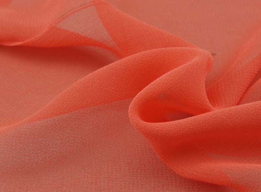 100% Polyester Composite Silk Chiffon Fabric for Women Dress