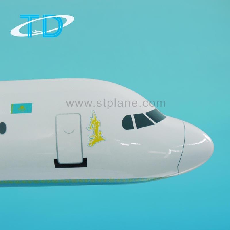 Bek Air Fokker 100 (100cm) Resin Large Display Plane Model