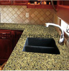 Sparkle Calacatta Quarz Slab for Kitchen Countertop