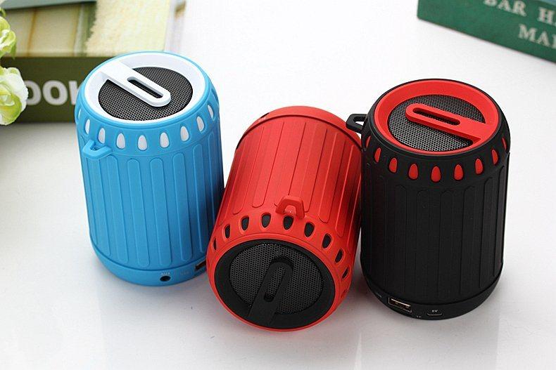 Best Tone Portable wireless Mini Bluetooth Speaker with FM Radio (DS-717)